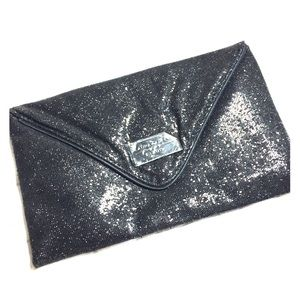 Laura Geller NWOT Black clutch make up bag new